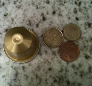Prix des dosettes lungos : 0,37€