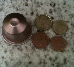 Prix des dosettes pure origine : 0,39€