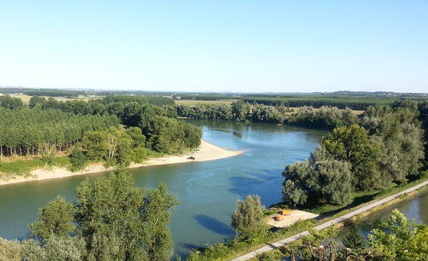 vue Garonne