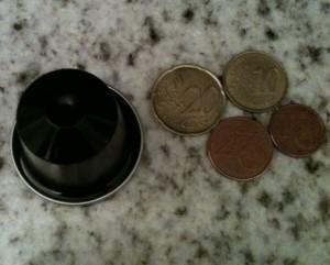 Prix des dosettes Blend 0,35€