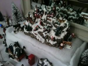Décor sous la neige