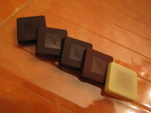 chocolat Nespresso