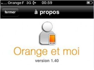 application smartphone Orange et moi