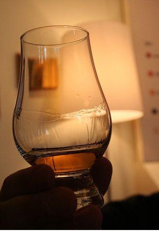 verre spécifique pour le whisky
