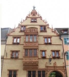 maison des têtes, hotel Colmar